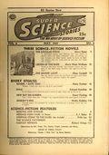 Super Science Stories (1940-1951 Popular Publications) Pulp Vol. 4 #4