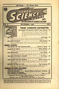 Super Science Stories (1940-1951 Popular Publications) Pulp Vol. 4 #2