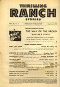 Thrilling Ranch Stories (1933-1953 Standard) Pulp Vol. 40 #1