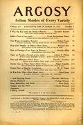 Argosy Part 4: Argosy Weekly (1929-1943 William T. Dewart) Oct 27 1937