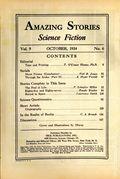Amazing Stories (1926-Present Experimenter) Pulp Vol. 9 #6