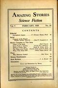 Amazing Stories (1926-Present Experimenter) Pulp Vol. 9 #10