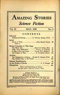 Amazing Stories (1926-Present Experimenter) Pulp Vol. 10 #2