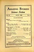 Amazing Stories (1926-Present Experimenter) Pulp Vol. 10 #4