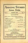 Amazing Stories (1926-Present Experimenter) Pulp Vol. 8 #11
