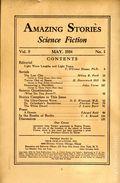 Amazing Stories (1926-Present Experimenter) Pulp Vol. 9 #1