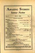 Amazing Stories (1926-Present Experimenter) Pulp Vol. 9 #3