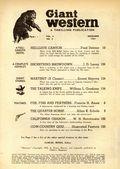 Giant Western (1947-1953 Standard Magazines) Pulp Vol. 8 #3