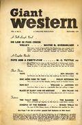 Giant Western (1947-1953 Standard Magazines) Pulp Vol. 6 #3