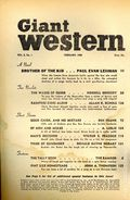 Giant Western (1947-1953 Standard Magazines) Pulp Vol. 5 #1