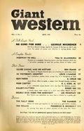 Giant Western (1947-1953 Standard Magazines) Pulp Vol. 3 #3