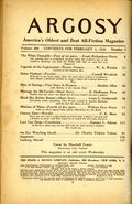Argosy Part 4: Argosy Weekly (1929-1943 William T. Dewart) Feb 3 1940