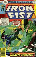 Iron Fist (1975 1st Series) 30 Cent Variant 6