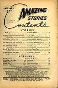 Amazing Stories (1926-Present Experimenter) Pulp Vol. 13 #1