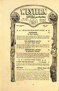 Western Novel and Short Stories (1934-1957 Newsstand-Stadium) Pulp Vol. 13 #5