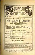 Phantom Detective (1933-1953 Standard Magazines) Pulp 1936, #1