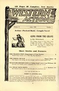 Western Action Novels Magazine (1936-1960 Columbia) 1st Series Pulp Vol. 17 #1
