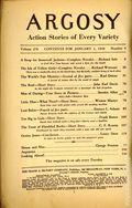 Argosy Part 4: Argosy Weekly (1929-1943 William T. Dewart) Jan 1 1938