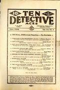Ten Detective Aces (1933-1949 Ace Magazines) Pulp Vol. 52 #3