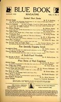 Blue Book (1905-1956 Story-Press/Consolidated/McCall) Pulp Aug 1933