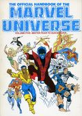 Official Handbook of the Marvel Universe TPB (1986-1987 Marvel) 5-1ST