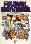 Official Handbook of the Marvel Universe TPB (1986-1987 Marvel) 9-REP