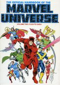 Official Handbook of the Marvel Universe TPB (1986-1987 Marvel) 2-1ST