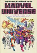 Official Handbook of the Marvel Universe TPB (1986-1987 Marvel) 10-1ST