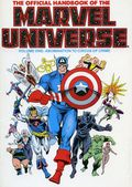 Official Handbook of the Marvel Universe TPB (1986-1987 Marvel) 1-1ST