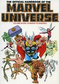 Official Handbook of the Marvel Universe TPB (1986-1987 Marvel) 7-1ST
