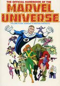 Official Handbook of the Marvel Universe TPB (1986-1987 Marvel) 4-REP