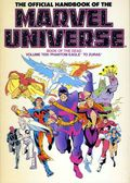 Official Handbook of the Marvel Universe TPB (1986-1987 Marvel) 10-REP