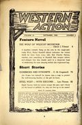 Western Action Novels Magazine (1936-1960 Columbia) 1st Series Pulp Vol. 14 #6