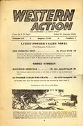 Western Action Novels Magazine (1936-1960 Columbia) 1st Series Pulp Vol. 10 #1