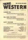 Triple Western (1947-1958 Standard) Pulp Vol. 13 #3