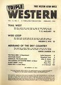 Triple Western (1947-1958 Standard) Pulp Vol. 12 #2