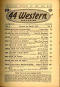 44 Western Magazine (1937-1954 Popular Publications) Pulp Vol. 9 #2