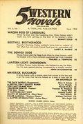 5 Western Novels Magazine (1949-1954 Standard Magazines) Pulp Vol. 6 #1