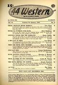 44 Western Magazine (1937-1954 Popular Publications) Pulp Vol. 16 #3
