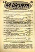 44 Western Magazine (1937-1954 Popular Publications) Pulp Vol. 16 #1