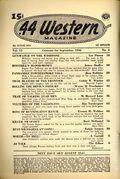 44 Western Magazine (1937-1954 Popular Publications) Pulp Vol. 15 #3