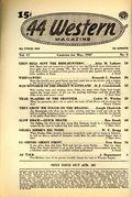 44 Western Magazine (1937-1954 Popular Publications) Pulp Vol. 17 #3