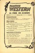 Famous Western (1937-1960 Columbia Publications) Pulp Vol. 16 #1