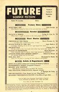 Future Science Fiction (1952-1960 Columbia Publications) Pulp Vol. 4 #3