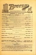 Breezy Stories and Young's Magazine (1915-1949 C.H. Young) Pulp Vol. 48 #5