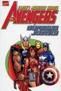 Avengers Supreme Justice TPB (2001 Marvel) Marvel's Finest Edition 1-1ST