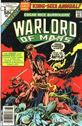 John Carter Warlord of Mars (1977 Marvel) Annual 1
