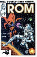 Rom (1979-1986 Marvel) Annual 4