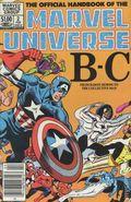 Official Handbook of the Marvel Universe (1983-1984 Marvel) 2