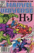 Official Handbook of the Marvel Universe (1983-1984 Marvel) 5